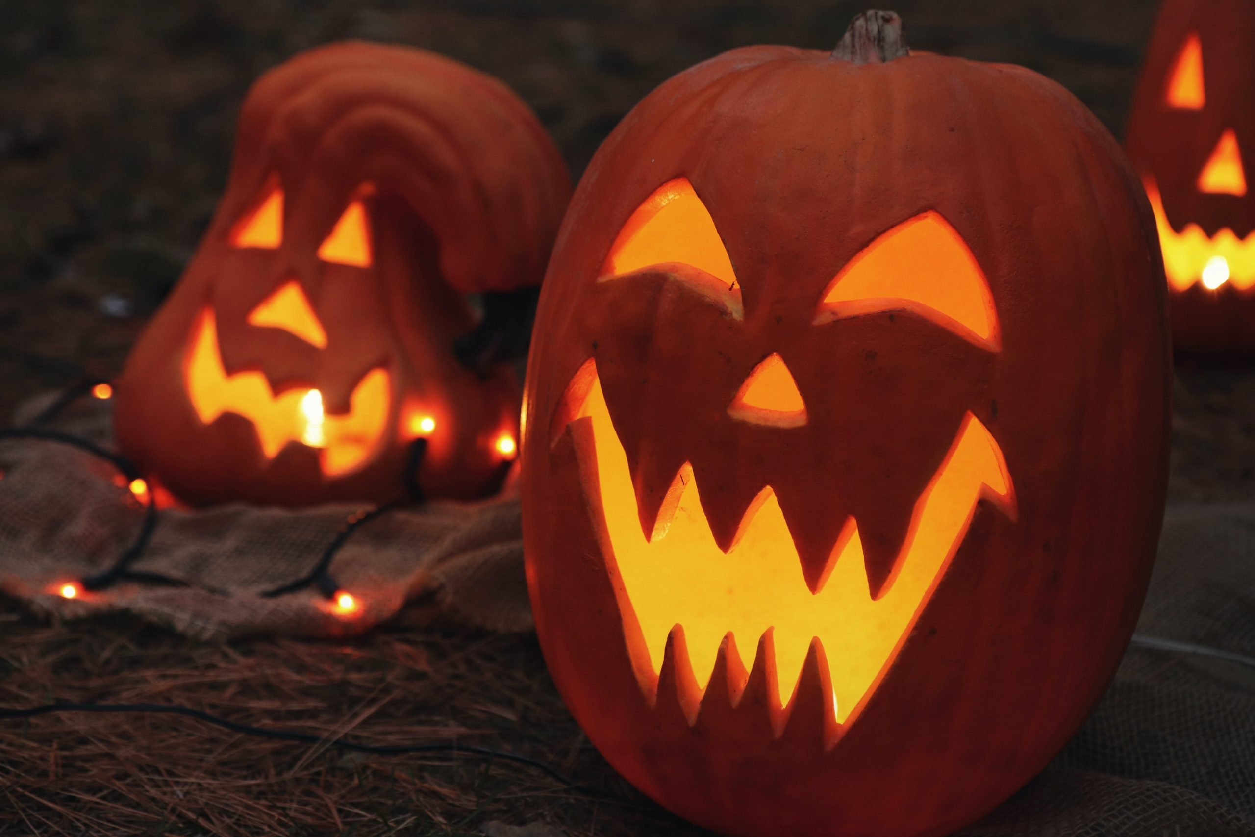Carved Pumpkins - Photo by Jen Theodore via unsplash