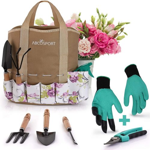 Abcosport Gardening Tote and Tools