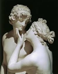 Aphrodite and Adonis sculpture