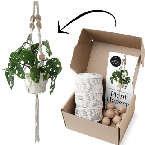 DIY Makrame Plant Hanger Kit
