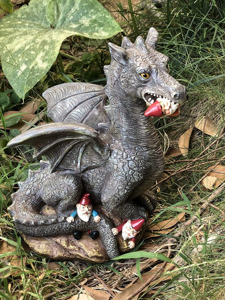 Dragon with Gnome