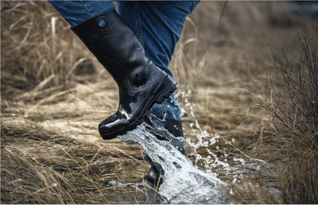 Dunlop Mens Rain Work Boot
