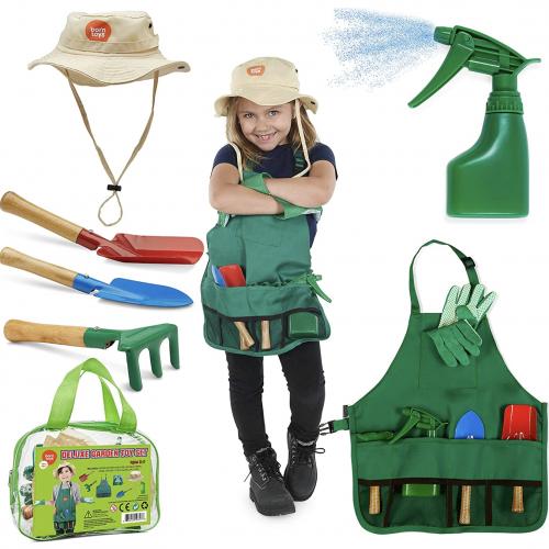 Little Gardener Tool Set for Children Gardening Ages Three to Seven