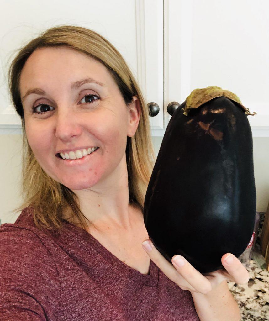kimber with black beauty eggplant
