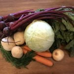 Veggies for Borscht