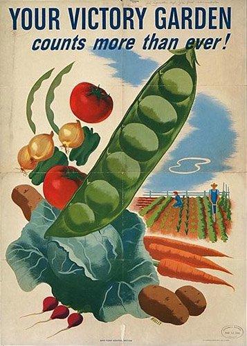 WW2 Victory Garden Poster