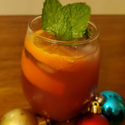 Mint Pomegranate Punch