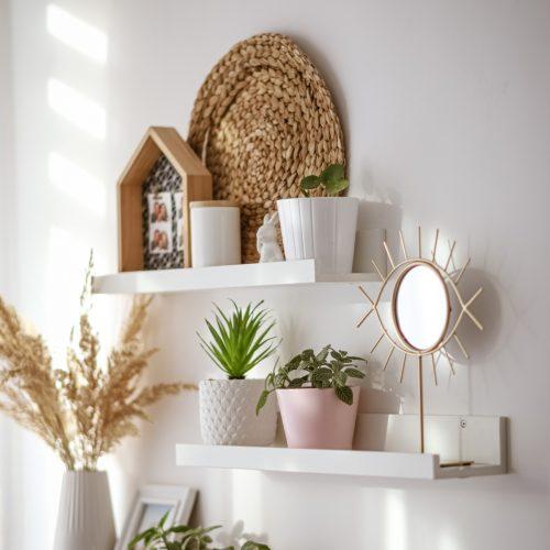 3 Plant shelves