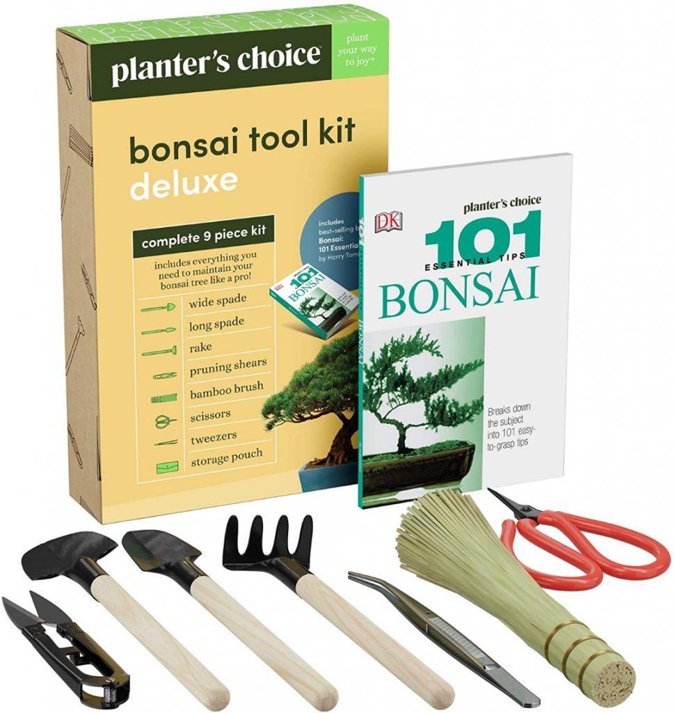 Bonsai Tool Kit and Bonsai 101 Book