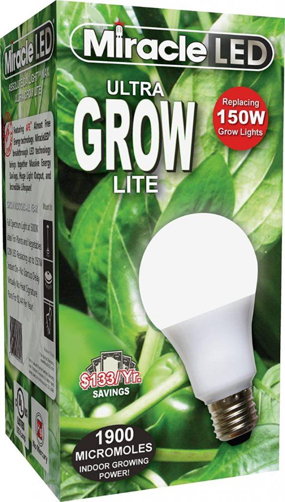 Spectrum LED Indoor Plant Growing Light Bulb