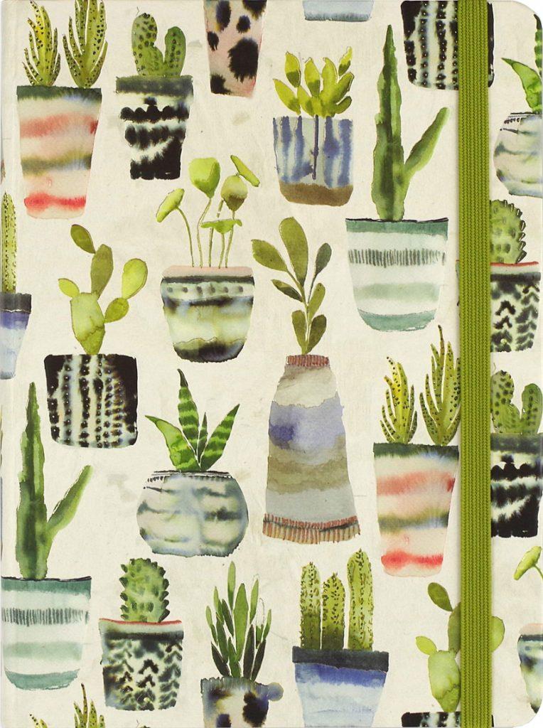 Watercolor Succulents Journal