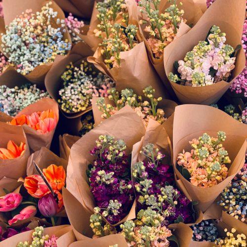 variety floral arrangements