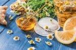 honey lemon chamomile tea