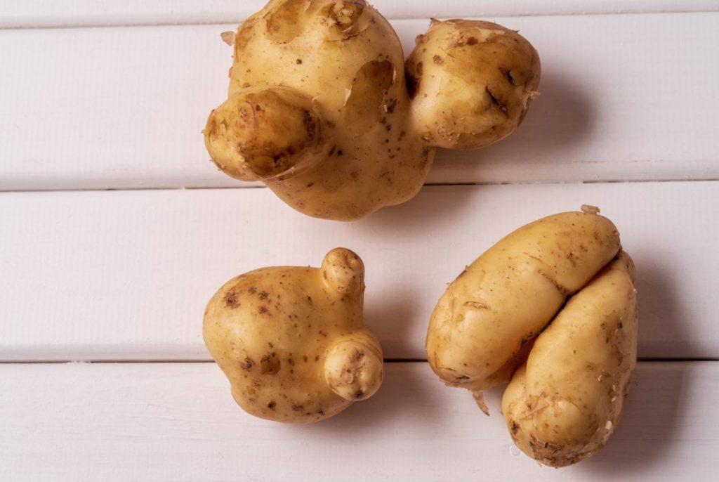 weird potatoes