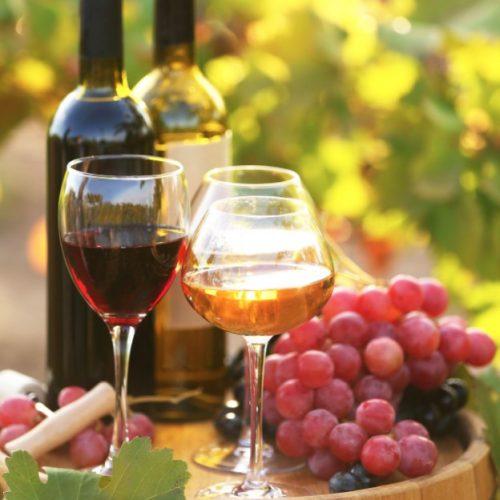 fancy wine bottles